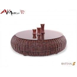 Кофейный столик Kiwi Cv Marnos Rattan