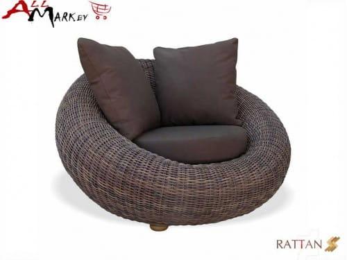 Кресло для отдыха Kiwi из натурального ротанга