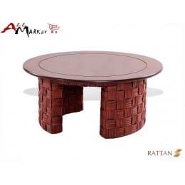Кофейный столик Nikel Cv Marnos Rattan