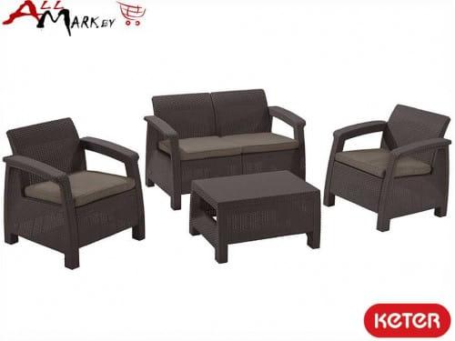 Комплект мебели Corfu set Keter 09117-933-02