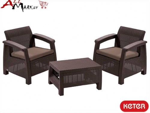 Комплект мебели Corfu weekend set Keter 09119-599-00