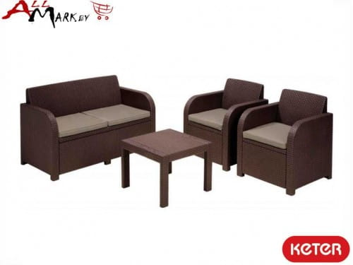 Комплект мебели Georgia set Keter 17199879