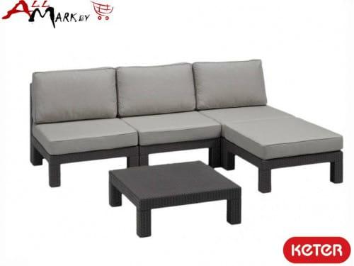 Комплект мебели Nevada low set Keter 17193926