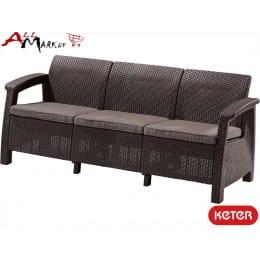 Софа Corfu love seat max Keter