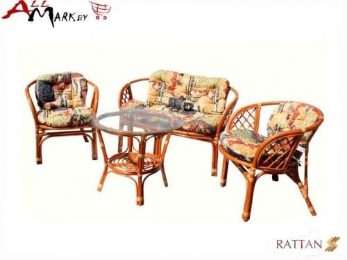 Комплект мебели Багама 01/17 для отдыха из натурального ротанга