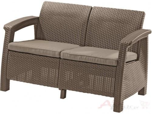 Keter Corfu Love Seat 09115-587-01