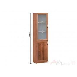 Шкаф-витрина Боровичи-мебель 18.07