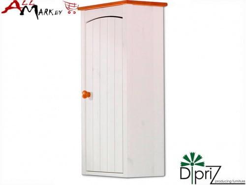 Навесной шкаф Паула Диприз Д 1142 в ванную комнату из массива сосны