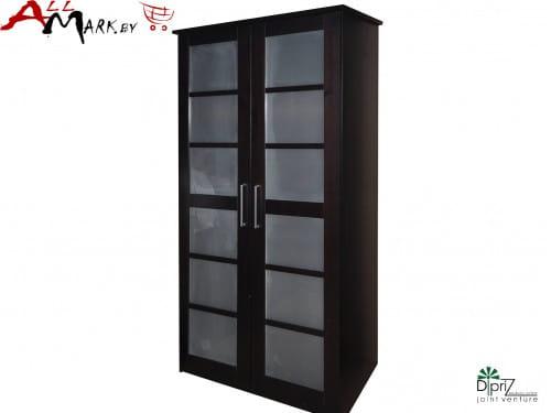 Двухстворчатый шкаф Париж Диприз Д 6203 из массива сосны