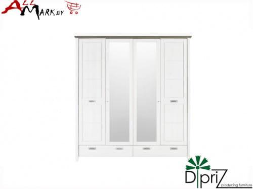Шкаф Саргас Диприз Д 7146-1 (4 двери) из массива сосны
