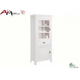 Шкаф с витриной Д 7187-2 Роми