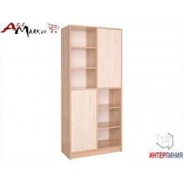 Шкаф Интерлиния СК-022 дуб сонома  / дуб белый