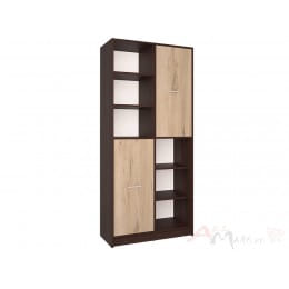 Шкаф Интерлиния СК-022 венге / дуб серый