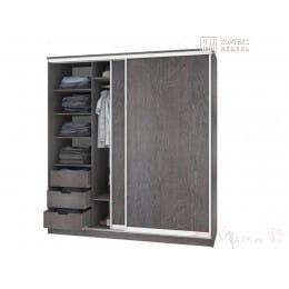 Шкаф-купе Кортекс-мебель Сенатор ШК12 классика, береза