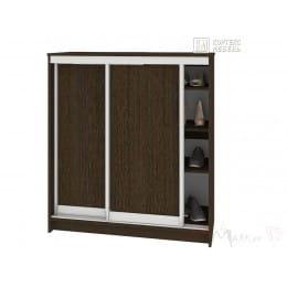 Шкаф для обуви Кортекс-мебель Сенатор ШК41 классика, венге