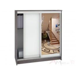 Шкаф для обуви Кортекс-мебель Сенатор ШК42 классика, береза / белый