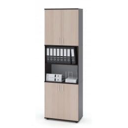 Шкаф Сокол-мебель ШУ-42 венге / беленый дуб