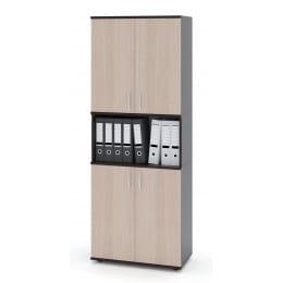 Шкаф Сокол-мебель ШУ-22 венге / беленый дуб