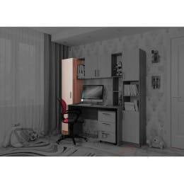 Пенал SV-мебель 7 ясень шимо темный / ясень шимо светлый