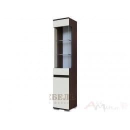 Пенал SV-мебель Нота 25 дуб венге / жемчуг