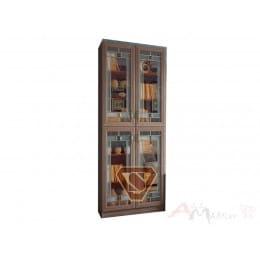Шкаф для посуды SV-мебель Вега ВМ-12 ясень шимо темный
