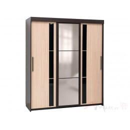Шкаф-купе SV-мебель 11 2 м дуб венге / дуб млечный