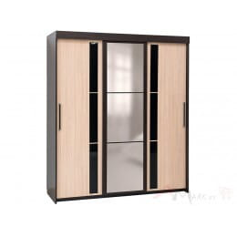 Шкаф-купе SV-мебель 11 1.5 м дуб венге / дуб млечный