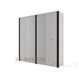 Шкаф SV-мебель Гамма 20 четырехстворчатый ясень анкор светлый / венге