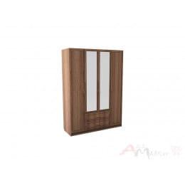 Шкаф SV-мебель Вега ВМ-06 ясень шимо темный