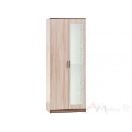 Шкаф SV-мебель Гамма 16 ясень шимо темный / ясень шимо светлый
