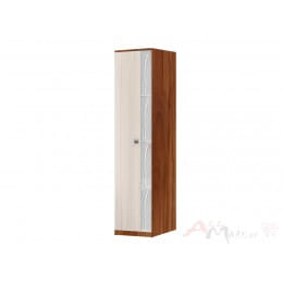 Пенал SV-мебель Гамма 15 слива валлис / дуб млечный