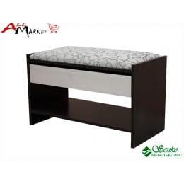 Скамья Мебель-Класс ВА-012.10, венге / дуб шамони