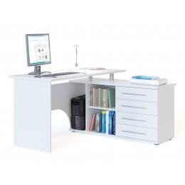 Компьютерный стол Сокол КСТ-109 белый