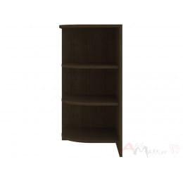 Стеллаж приставной Кортекс-мебель Сенатор КМ47, венге