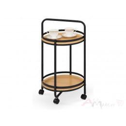 Столик сервировочный Halmar BAR 11 дуб / черный