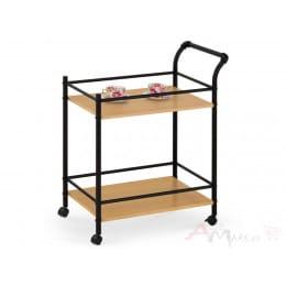 Столик сервировочный Halmar BAR 12 дуб / черный
