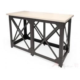 Стол барный MillWood Нельсон (Лофт N) дуб беленый