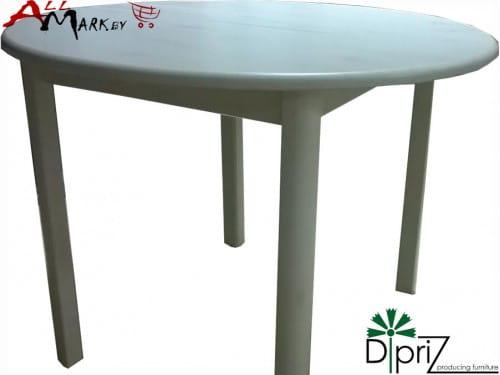 Круглый кухонный стол Вестфалия Диприз Д 4192 из массива сосны
