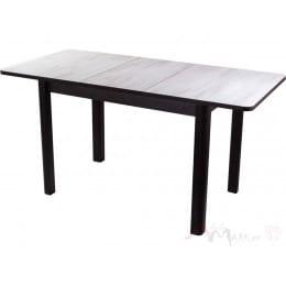 Стол Домотека Джаз ПР-1 (дуб беленый/венге/04 ) 80х120 (157),