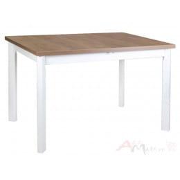 Стол Drewmix MAX 5 P дуб лефкас / белый