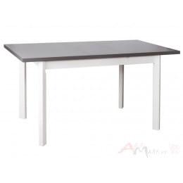 Стол Drewmix MAX 5 P графит / белый