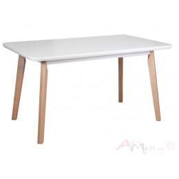 Стол Drewmix OSLO 7 белый / бук