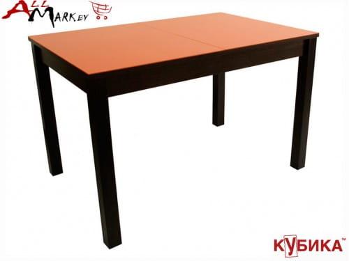 Кухонный стол Нагано 2  Кубика со столешницей из закаленного стекла