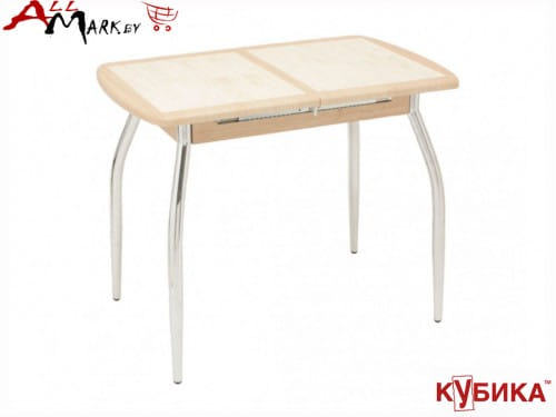 Кухонный стол Пешта 1 ПО Кубика со столешницей из керамической плитки