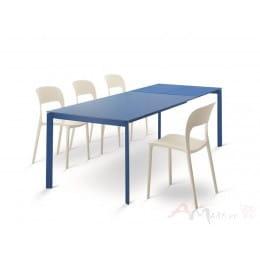 Стол BONTEMPI DUBLINO (20.18) M316/M316 Blu/С197 Blu. син.гл.ст, wood blu)