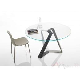 Стол BONTEMPI MILLENNIUM (20.42) D130*75 см (MC03/C157) Bontempi