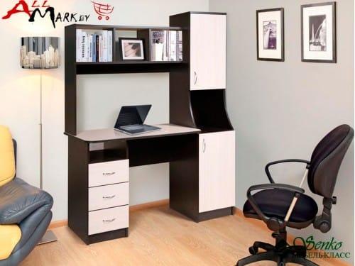 Компьютерный стол Мебель-Класс Партнер, венге / дуб шамони