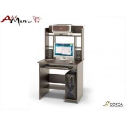 Компьютерный стол КСТ-01 с надстройкой КН-12 Сокол