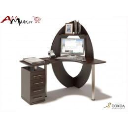 Компьютерный стол КСТ-101 + КТ-101 Сокол