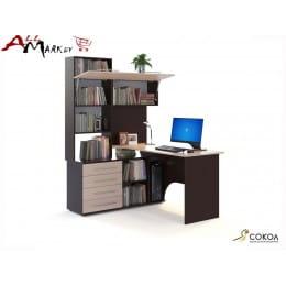 Компьютерный стол Сокол КСТ-14 венге / беленый дуб